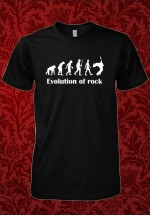 Tricou Evolution of rock
